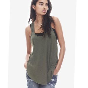 Express One Eleven Racer back Tank